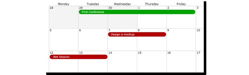 Set calendar